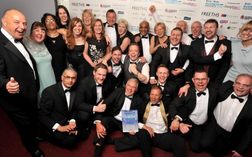 Lestercast Win Company of the Year 2015