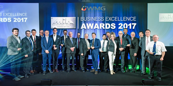 Business Excellence Awards 2017 Group Photograph