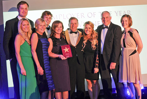 Lestercast Win Employer of the Year 2014 - Family Business Awards, November 2014