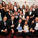 Lestercast Win Company of the Year at the Leicester Mercury Business Awards 2015