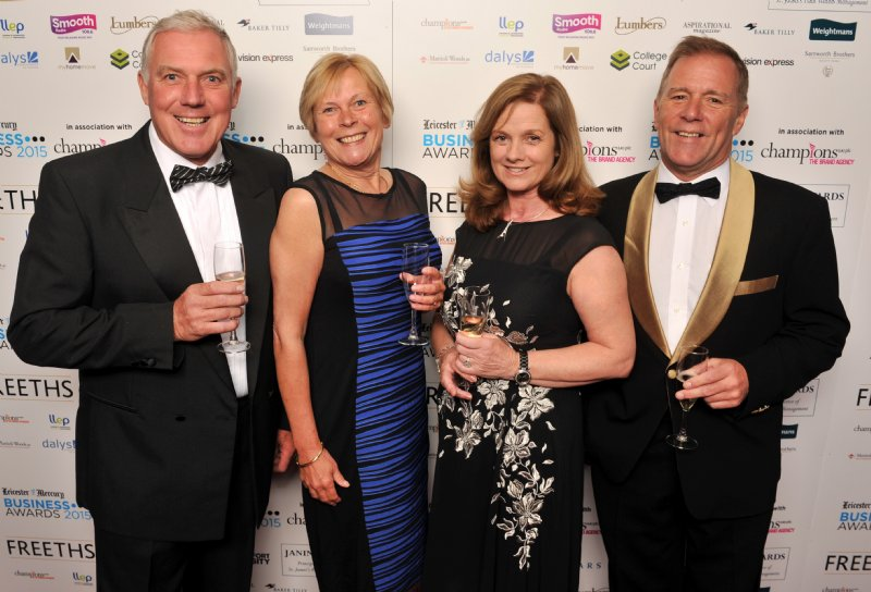 Lestercast Owners winning Company of the Year 2015