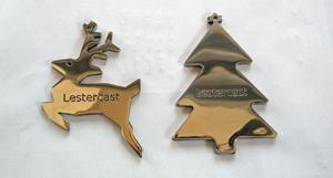 Lestercast 2015 Christmas Ornaments